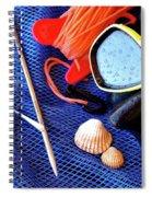 Dive Gear Spiral Notebook