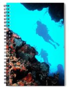 Diver Down Spiral Notebook