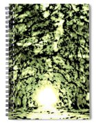 Divine Light Spiral Notebook