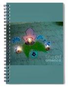 Diwali Rangoli Spiral Notebook