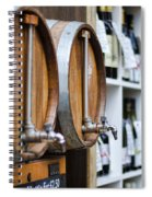 Diy Wine Spiral Notebook