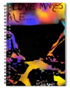 Dizzy 4 Your Love Spiral Notebook