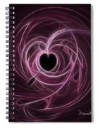 Dizzy Spiral Notebook