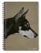 Doberman Spiral Notebook