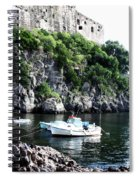 Docked At Sea Spiral Notebook