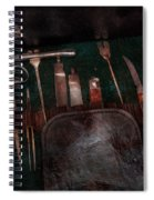 Doctor - Civil War Instruments Spiral Notebook