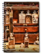 Doctor - The Medicine Cabinet Spiral Notebook