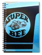 Dodge Charge Super Bee Logo  Spiral Notebook