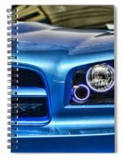 Dodge Charger Front Spiral Notebook