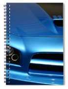 Dodge Charger Srt8 Super Bee Spiral Notebook