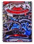 Dodge Motor Hdr Spiral Notebook