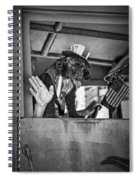 Dog On The Campaign Trail Spiral Notebook