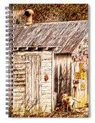 Dogs Back At The Cabin Spiral Notebook