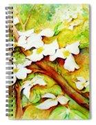 Dogwood Flowers Spiral Notebook