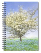 Dogwood In The Mist Spiral Notebook