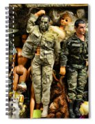 Doll - Gi Joe In Camo Spiral Notebook