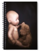 Doll And Bear Spiral Notebook
