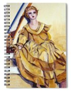 Doll On Canvases  Spiral Notebook