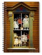 Dollhouse Gothic Spiral Notebook