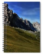 Dolomiti's Panoramic Spiral Notebook