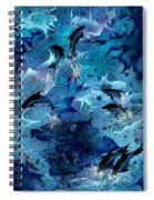 Dolphin Enchantment Spiral Notebook