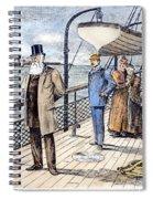 Dom Pedro II (1825-1891) Spiral Notebook