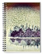 Dome Of Snow Spiral Notebook