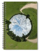 Dome Of The Sky Spiral Notebook