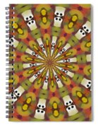 Dominoes Spiral Notebook