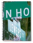 Don Ho Street Spiral Notebook