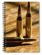 Don't Bite The Bullet Spiral Notebook