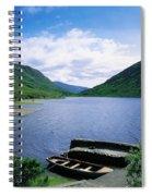 Doo Lough, Delphi, Co Mayo, Ireland Spiral Notebook