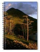 Doo Lough Pass, County Mayo, Ireland Spiral Notebook