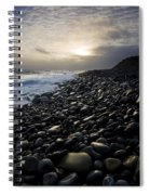 Doolin, County Clare, Ireland Pebble Spiral Notebook