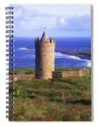 Doonagore Castle, Co Clare, Ireland Spiral Notebook