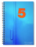 Door Five Spiral Notebook