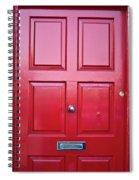 Door In Ireland 5 Spiral Notebook