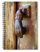 Door Knocker Spiral Notebook