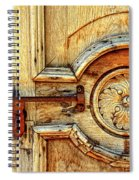 Door Study Taos New Mexico Spiral Notebook
