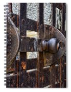 Door To Death Row Spiral Notebook