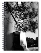 Door To Hunting Island Light Spiral Notebook