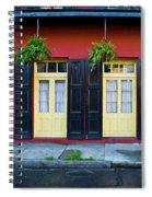 Doors And Shutters Spiral Notebook