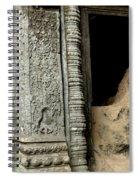 Doorway Ankor Wat Spiral Notebook