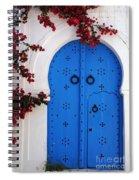 Doorway In Tunisia 1 Spiral Notebook