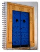 Doorway In Tunisia 2 Spiral Notebook