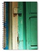 Doorway In Tunisia 4 Spiral Notebook