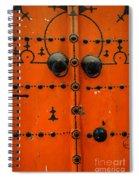 Doorway In Tunisia 6 Spiral Notebook