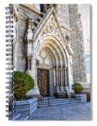 Doorway Sacred Heart Cathedral Spiral Notebook