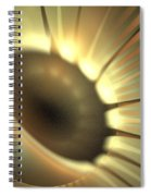 Doppler Beam Spiral Notebook