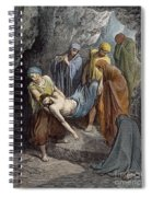 Burial Of Jesus Spiral Notebook